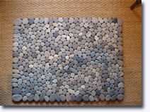 Large stone floor mat - Click for larger image