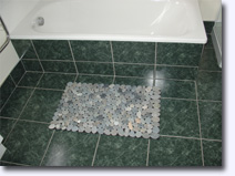 Small stone floor mat - Click for larger image